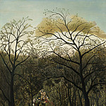 National Gallery of Art (Washington) - Henri Rousseau - Rendezvous in the Forest