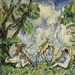 National Gallery of Art (Washington) - Paul Cezanne - The Battle of Love