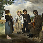 Edouard Manet - The Old Musician, National Gallery of Art (Washington)