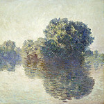 The Seine at Giverny, Claude Oscar Monet