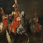 Mounted Trumpeters of Napoleon's Imperial Guard, Jean Louis Andre Theodore Gericault