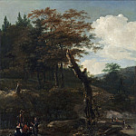 National Gallery of Art (Washington) - Adam Pynacker - Wooded Landscape with Travelers