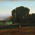 George Inness - View of the Tiber near Perugia, National Gallery of Art (Washington)
