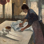 National Gallery of Art (Washington) - Edgar Degas - Woman Ironing