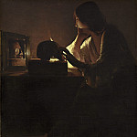 National Gallery of Art (Washington) - Georges de La Tour - The Repentant Magdalen
