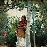 Under a Palm Tree, Winslow Homer