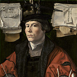Jan Gossaert - Portrait of a Merchant, National Gallery of Art (Washington)