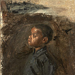 National Gallery of Art (Washington) - Thomas Eakins - Study for «Negro Boy Dancing»: The Boy