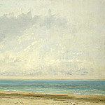 Gustave Courbet - Calm Sea, National Gallery of Art (Washington)