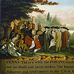 National Gallery of Art (Washington) - Edward Hicks - Penn's Treaty with the Indians