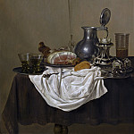 Gerrit Willemsz Heda - Still Life with Ham, National Gallery of Art (Washington)
