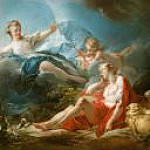 Diana and Endymion, Jean Honore Fragonard