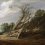 Landscape with Open Gate, De Pieter Molijn