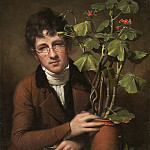 Rembrandt Peale - Rubens Peale with a Geranium, National Gallery of Art (Washington)
