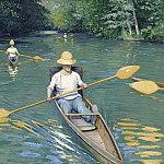 Gustave Caillebotte - Skiffs, National Gallery of Art (Washington)