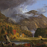 A View of the Mountain Pass Called the Notch of the White Mountains (), Thomas Cole