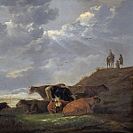 River Landscape with Cows, Aelbert Cuyp
