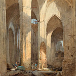 Martin Gensler – The Ruins of Saint Nicolai Church in Hamburg, National Gallery of Art (Washington)