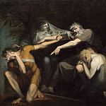 National Gallery of Art (Washington) - Henry Fuseli - Oedipus Cursing His Son, Polynices