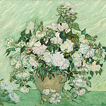 Vincent van Gogh - Roses, National Gallery of Art (Washington)