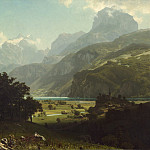 Albert Bierstadt - Lake Lucerne, National Gallery of Art (Washington)