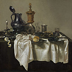 Willem Claesz Heda - Banquet Piece with Mince Pie, National Gallery of Art (Washington)