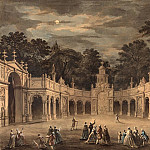 Robert Adam - A Design for Illuminations to Celebrate the Birthday of King George III, National Gallery of Art (Washington)