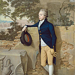 Hugh Douglas Hamilton – Frederick North, Later Fifth Earl of Guilford, in Rome, National Gallery of Art (Washington)