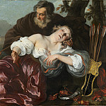 Louis Vallee - Silvio with the Wounded Dorinda, National Gallery of Art (Washington)