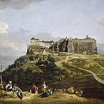 Bernardo Bellotto - The Fortress of Konigstein, National Gallery of Art (Washington)