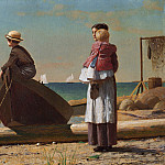 Dad's Coming!, Winslow Homer