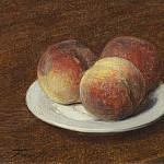 Henri Fantin-Latour – Three Peaches on a Plate, National Gallery of Art (Washington)