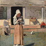 The Sick Chicken, Winslow Homer