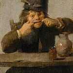 Adriaen Brouwer - Youth Making a Face, National Gallery of Art (Washington)