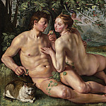 Hendrik Goltzius – The Fall of Man, National Gallery of Art (Washington)