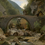 Theodore Rousseau – Mountain Stream in the Auvergne, National Gallery of Art (Washington)