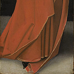 Master of the Starck Triptych - Saint Barbara [left wing exterior], National Gallery of Art (Washington)