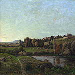 Henri-Joseph Harpignies - Landscape in Auvergne, National Gallery of Art (Washington)