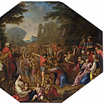 Circle of Claude Deruet - Road to Calvary, National Gallery of Art (Washington)