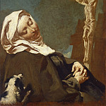 Giovanni Battista Piazzetta - Saint Margaret of Cortona, National Gallery of Art (Washington)