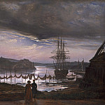 Johan Christian Dahl - View from Vaekero near Christiania, National Gallery of Art (Washington)