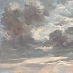 National Gallery of Art (Washington) - John Constable - Cloud Study: Stormy Sunset