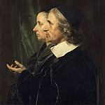 Portrait of the Artist's Parents, Salomon de Bray and Anna Westerbaen, Jan De Braij