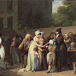 Louis-Leopold Boilly - The Card Sharp on the Boulevard, National Gallery of Art (Washington)