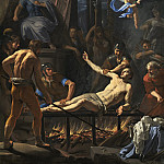 Jean-Baptiste de Champaigne - The Martyrdom of Saint Lawrence, National Gallery of Art (Washington)