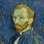 Vincent van Gogh - Self-Portrait, National Gallery of Art (Washington)