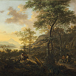 Jan Both - An Italianate Evening Landscape, National Gallery of Art (Washington)