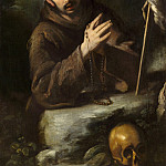 National Gallery of Art (Washington) - Bernardo Strozzi - Saint Francis in Prayer