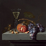 Jacob van Walscapelle - Still Life with Fruit, National Gallery of Art (Washington)