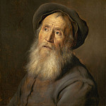Jan Lievens - Bearded Man with a Beret, National Gallery of Art (Washington)